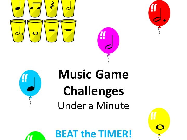 Music Game Challenges Under A Minute: Beat The Timer!