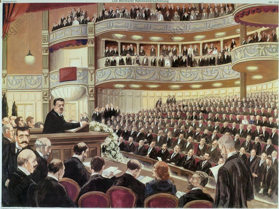 AQA 1L: Unit 3 Lesson 8 – Weimar Constitution