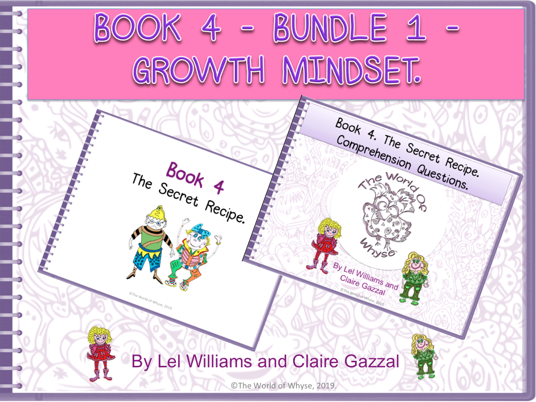 Growth Mindset Poster from The World of Whyse's Book 4 'The Secret