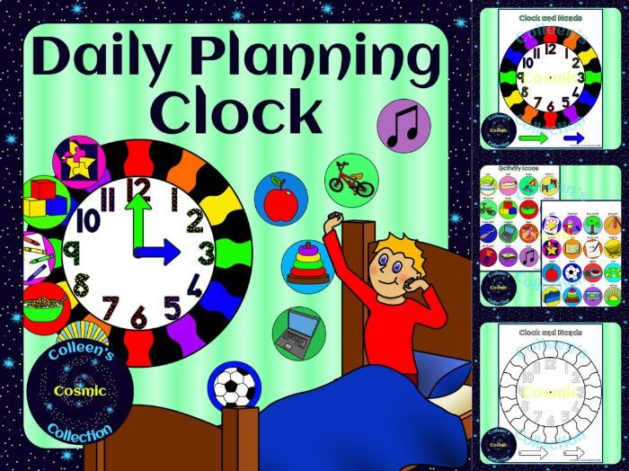 Daily Planning Clock