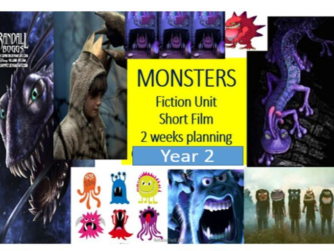 Monster Unit Year 2 Fiction Narrative and Poetry