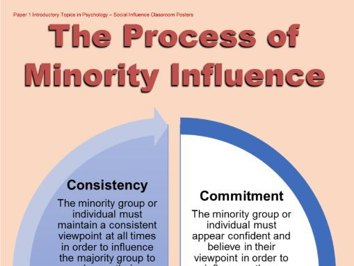Poster - Process of Minority Influence