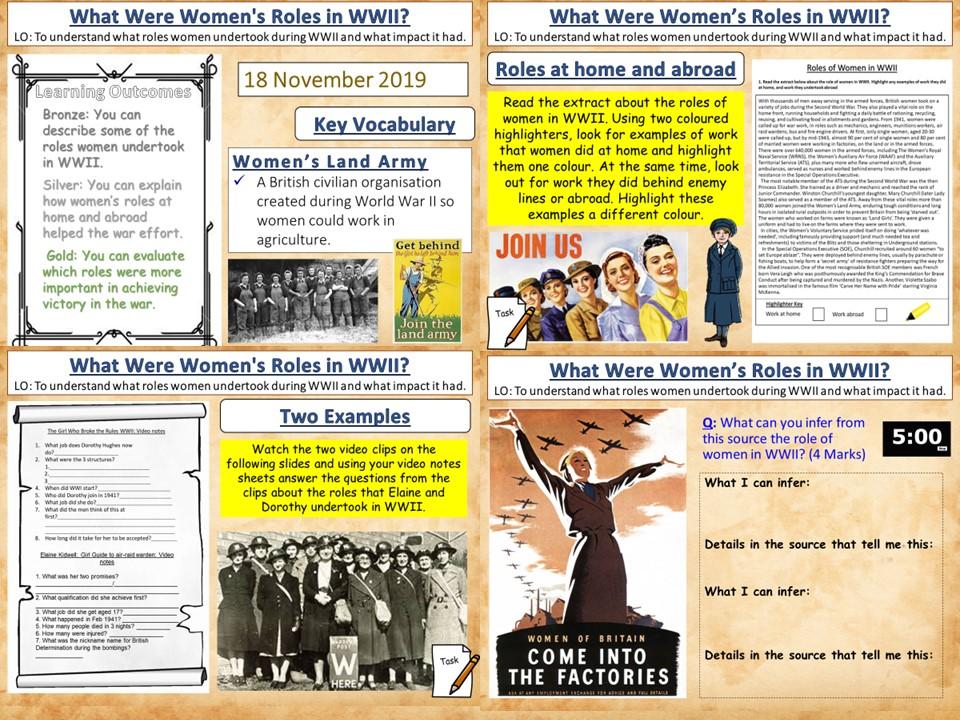 Women's Roles in WWII