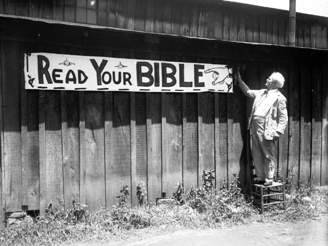 1920s U.S. Religious Fundamentalism - The Scopes Trial