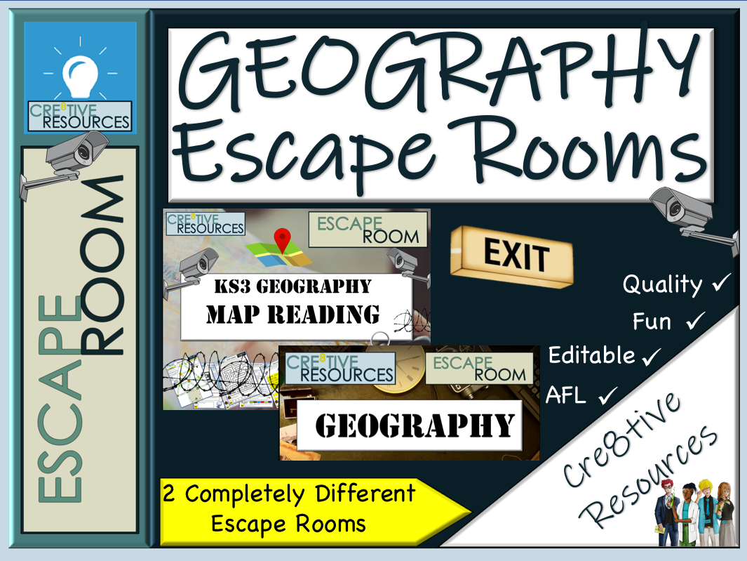 Geography Escape Rooms - End of Term?