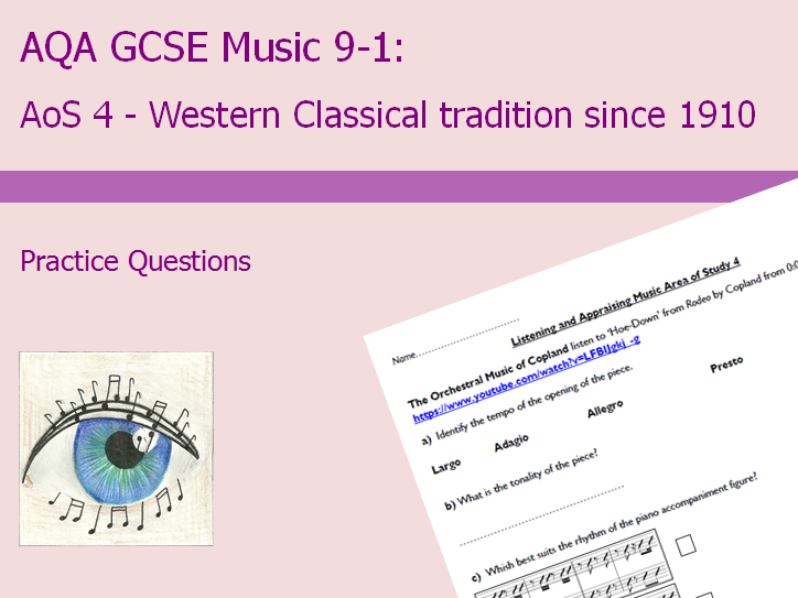 AQA GCSE Music 9-1: AoS4 Practice Questions