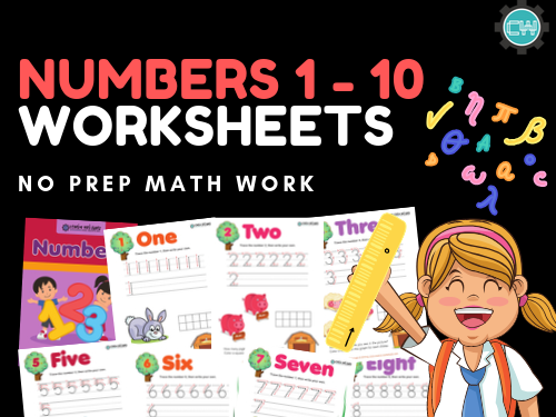 Maths Numbers 1 - 10