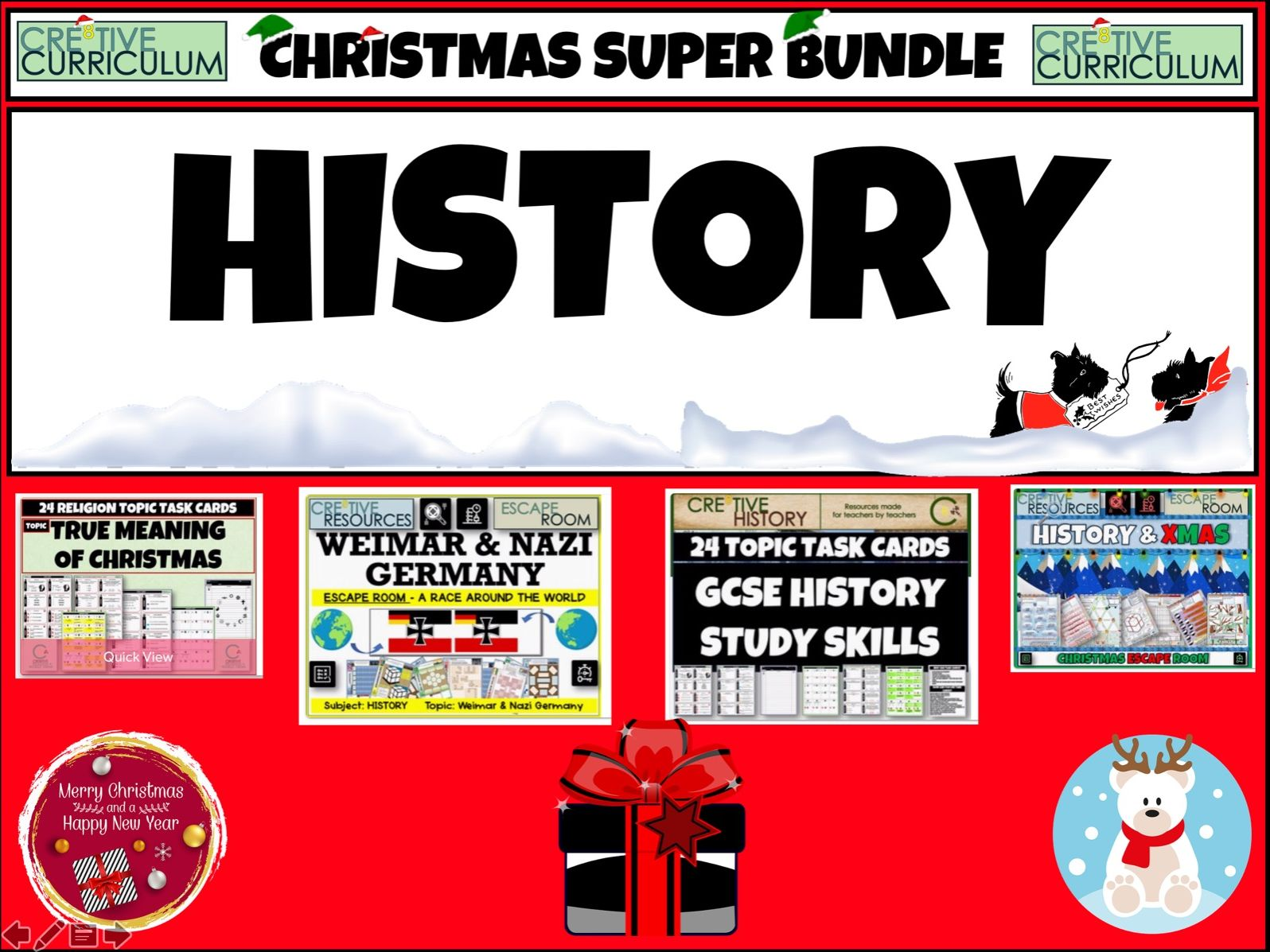 History Christmas Resources - GCSE