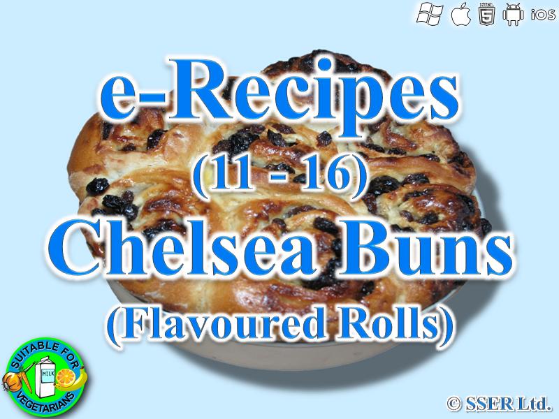 35. Chelsea Buns (e-Recipe)