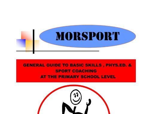 Morsport - Foundation Phase Skills Tests