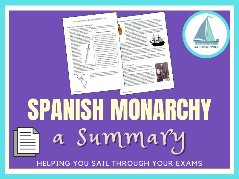 Spanish Monarchy and Royal Family: A Summary for Spanish AS/A Level