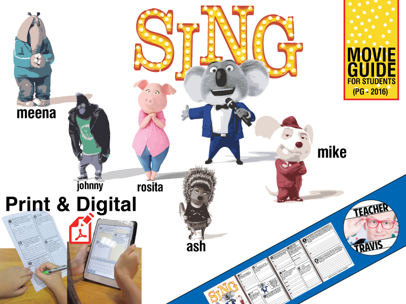 Sing Movie Viewing Guide