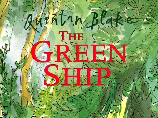 The Green Ship - 4 weeks of lesson plans