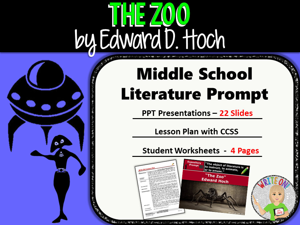 The Zoo by Edward D. Hoch - Text Dependent Analysis Expository Writing Prompt