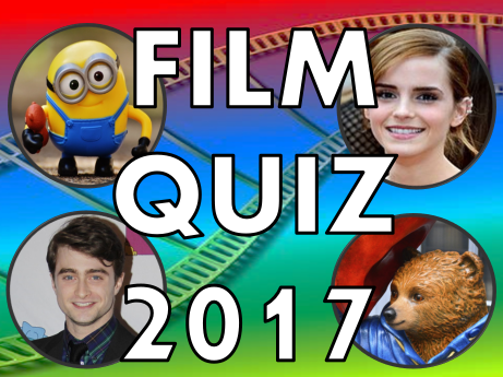 Film Quiz 2017 –  movie news, activity, lesson, presentation