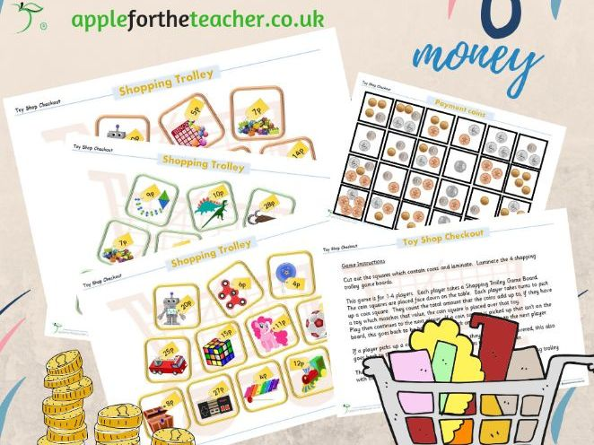 Money Shopping Games KS1