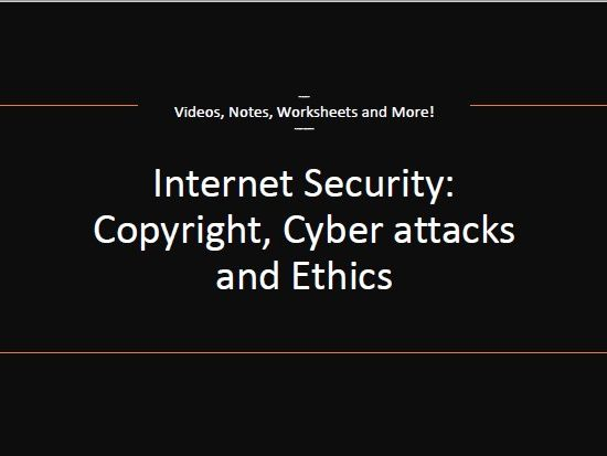 Internet Security, Copyright and Information Privacy!