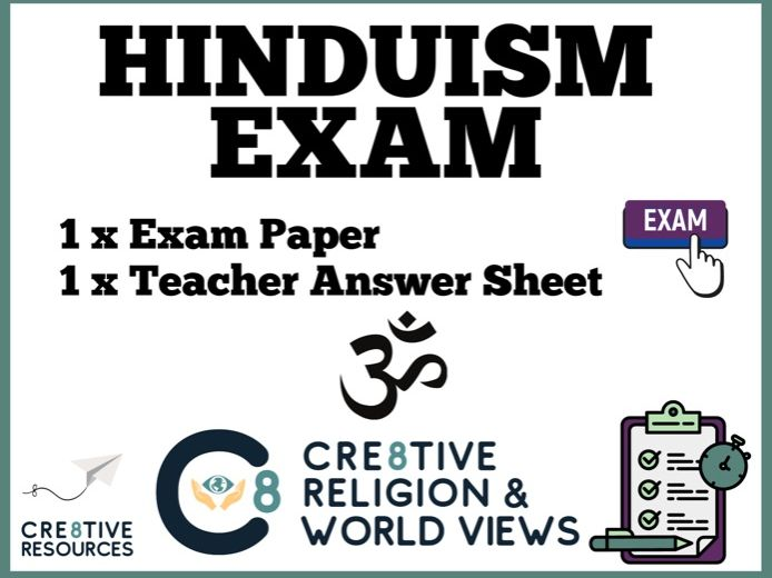 Hinduism Assessment Exam paper