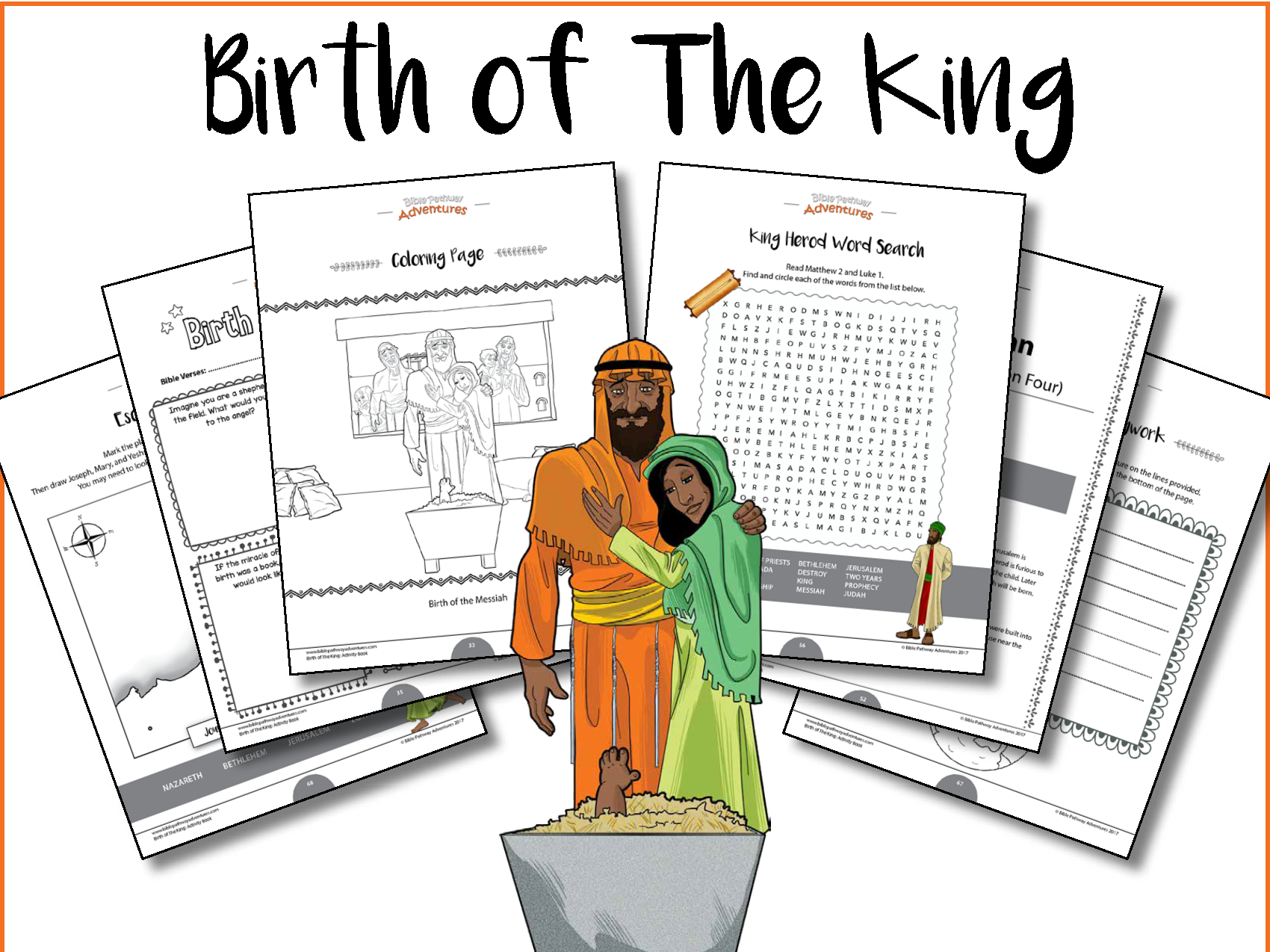 Birth of The King Activity Book and Lesson Plans