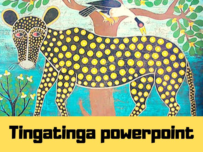 Tingatinga art introduction powerpoint