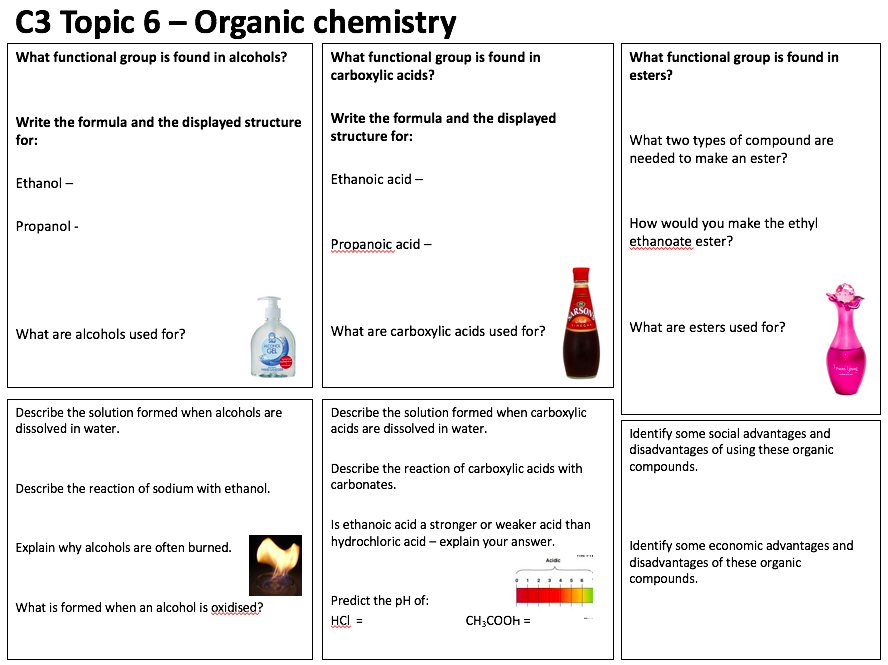 aqa chemistry c3 revision sheets by danboorman teaching resources tes. Black Bedroom Furniture Sets. Home Design Ideas