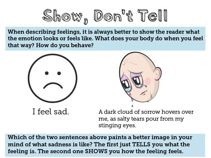 'Show, Don't Tell' Guide