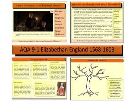 AQA GCSE 9-1 History Elizabethan England 1568-1603: An introduction to Elizabeth I