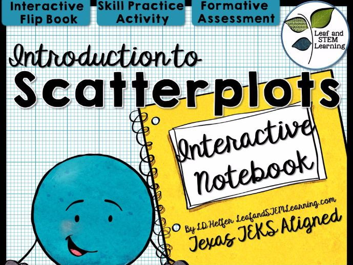 Scatterplots Interactive Notebook Set