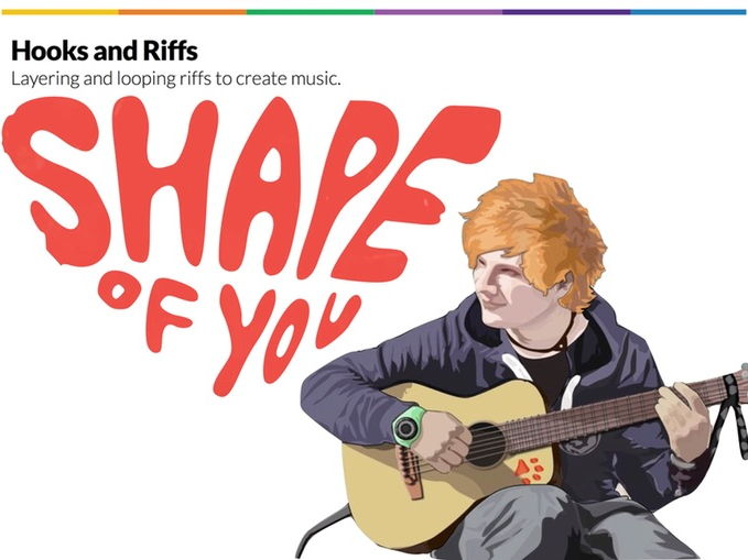 Hooks and Riffs: Ed Sheeran's Shape of You
