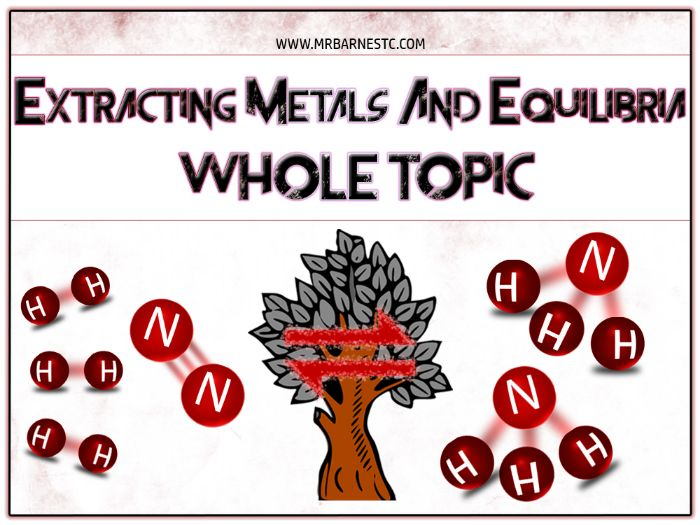 GCSE Chemistry 9-1: Extracting Metals and Equilibria PowerPoint / Unit of Work