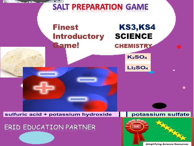 SALT PREPARATION GAME