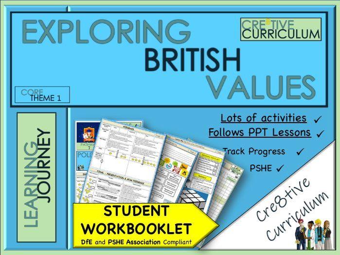 British Values  Work Booklet - PSHE