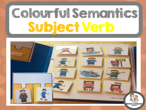 Colourful Semantics Pack - Subject Verb