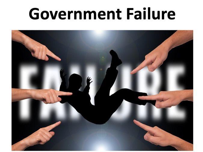 A level Economics - Government Failure