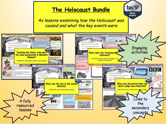 The Holocaust Bundle (4x lessons)