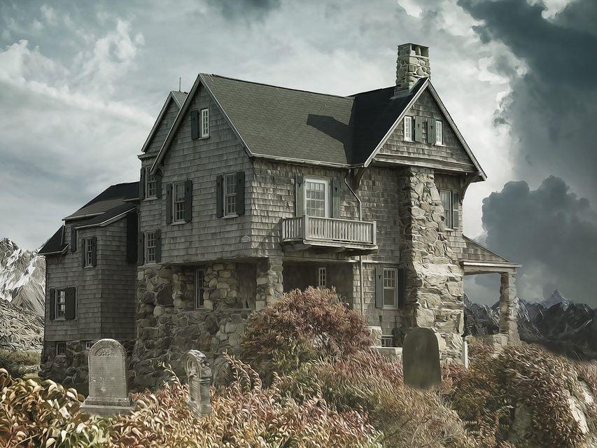 Halloween GCSE English Language: The Haunted House Text