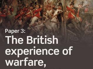 Napoleon and Duke of Wellington - (A-Level) - British Experience of Warfare, c.1790-1918