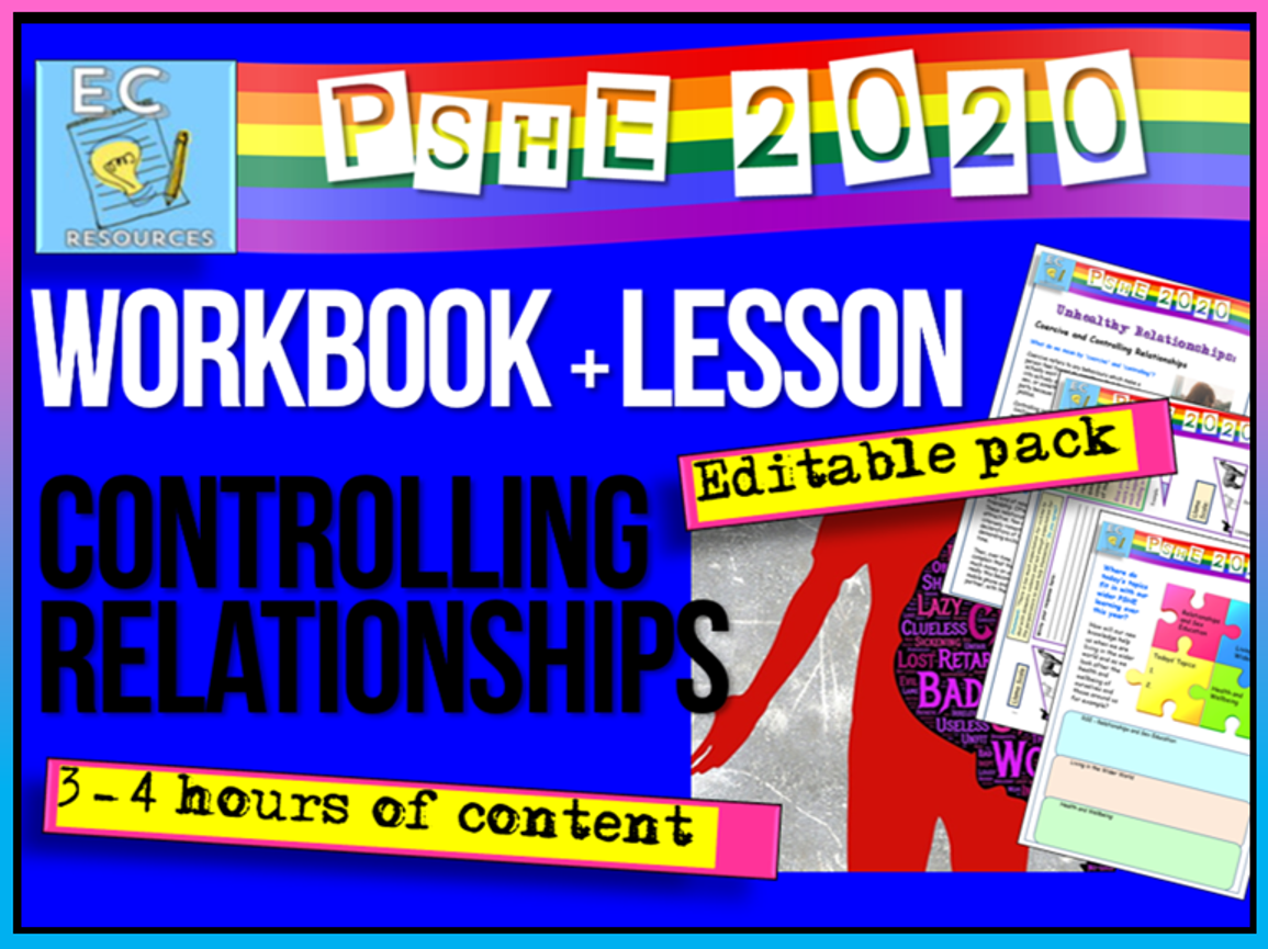 Controlling Relationships PSHE 2020