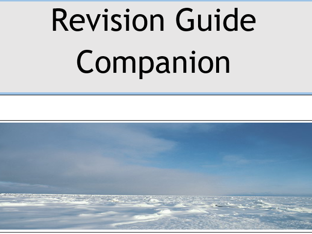GCSE AQA 9-1 Syllabus The Challenge of Natural Hazards Revision Booklets -Flipped Learning