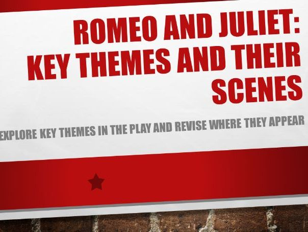 Romeo and Juliet: Key themes