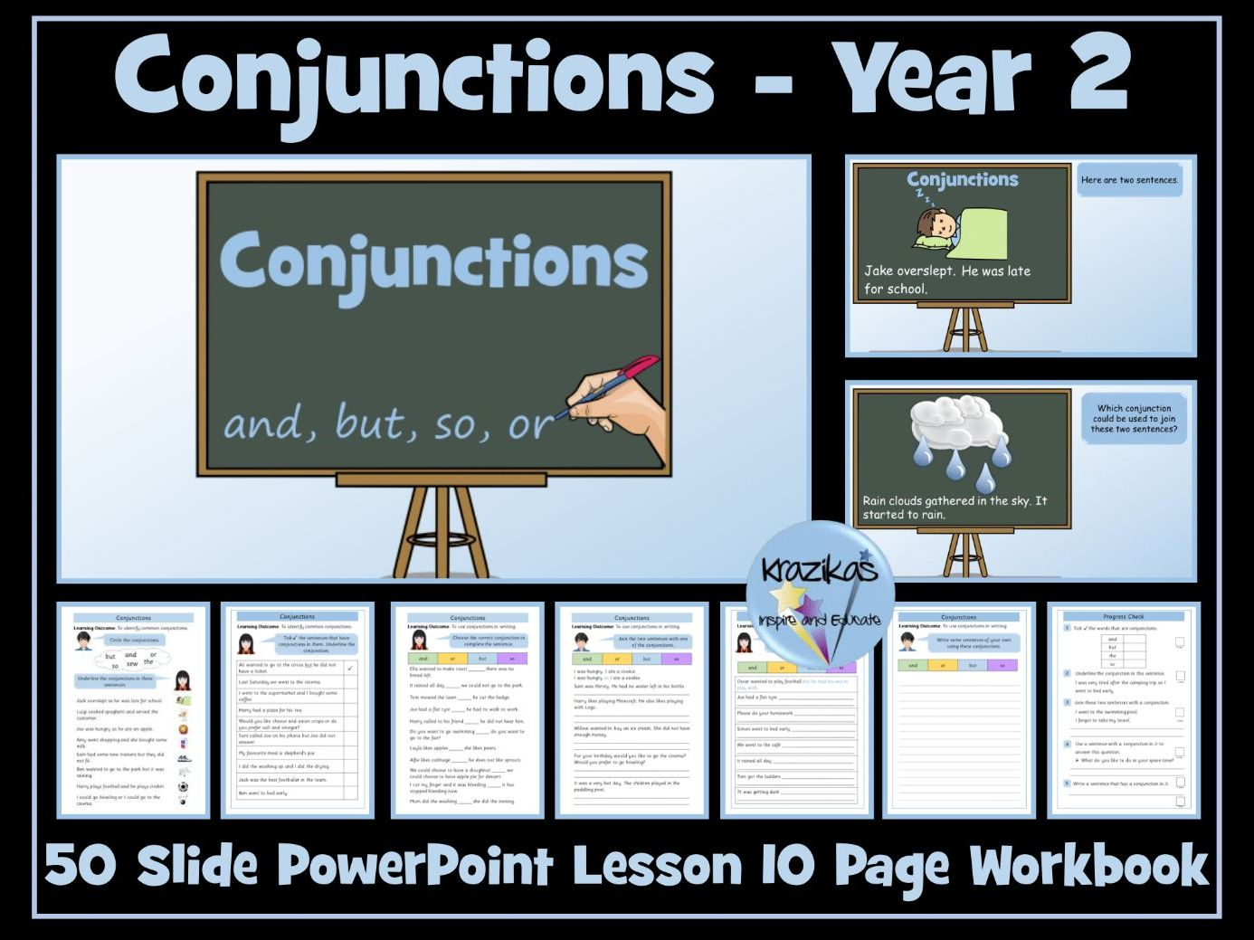 Coordinating Conjunctions - Year 2
