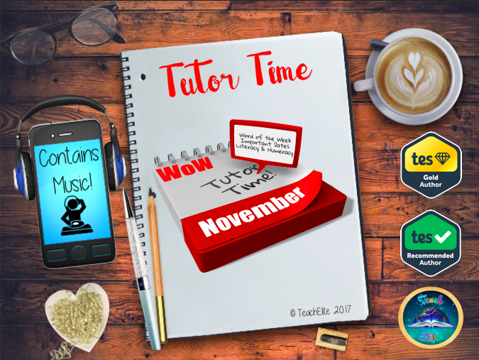 Tutor Time / Assembly Pack - November FREE using code @ checkout.