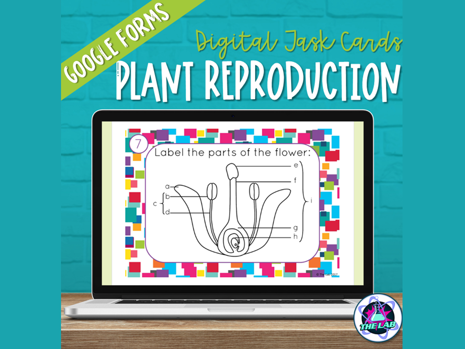 Plant Reproduction Digital Task Cards