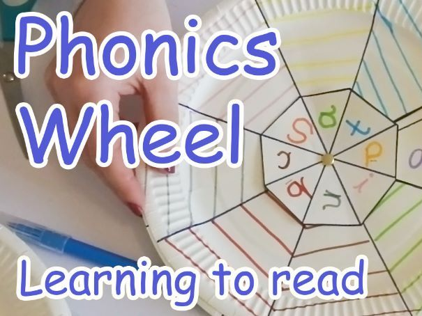 Phonics Wheel - How to make and use
