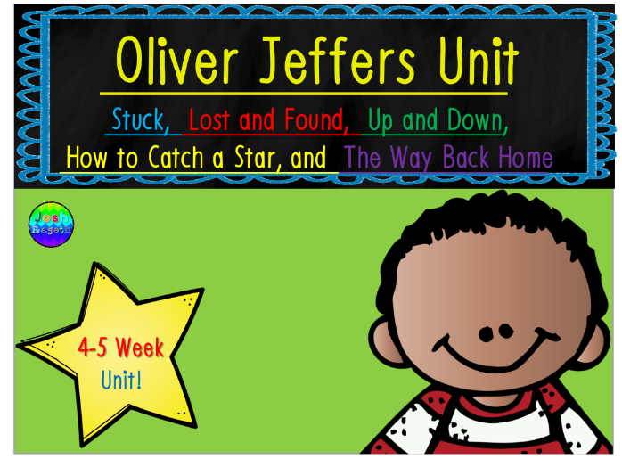 Oliver Jeffers 5 Week Unit