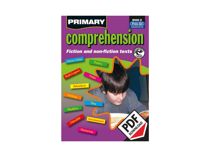 Primary Comprehension: Book D - KS2 Yr3/P4 (Age 8-9)