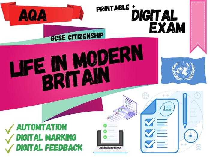 GCSE Citizenship AQA Digital Exam