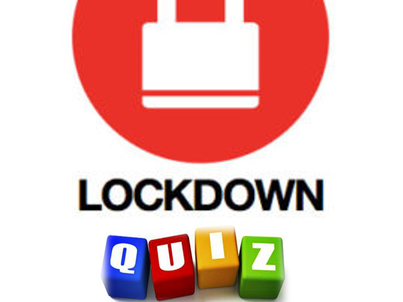 Big Lockdown Quiz 1