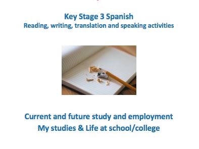 Key Stage 3 Spanish – School – New GCSE-style activities