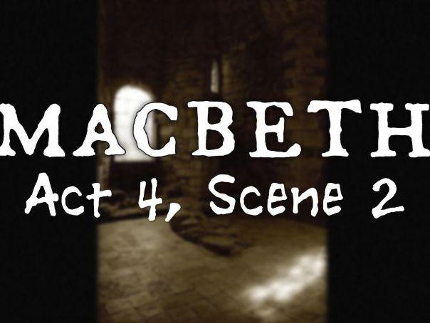 Line by Line: Macbeth (4.2)